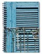 Mardi Gras Beads Spiral Notebook