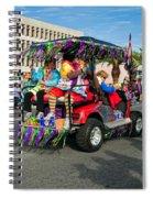 Mardi Gras Clowning Spiral Notebook