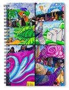 Mardi Gras Fun Spiral Notebook