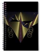 Mardi Gras Mask 2 Spiral Notebook