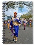 Mardi Gras Struttin' Spiral Notebook