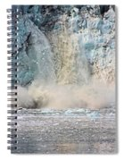 Margerie Glacier Calving Spiral Notebook