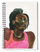 Maria Mutola Spiral Notebook