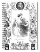 Marie Taglioni (1804-1884) Spiral Notebook