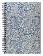 Marigold Wallpaper Design Spiral Notebook