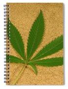 Marijuana Leaf Spiral Notebook