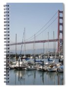 Marina At Golden Gate Spiral Notebook
