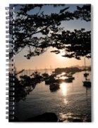 Marina At Sunrise Spiral Notebook