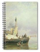 Marine Scene  Spiral Notebook