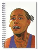 Marion Jones Spiral Notebook