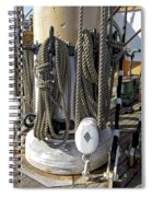 Maritime Pulley And Rope Work Spiral Notebook