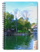 Mark Twain Riverboat At Disneyland Spiral Notebook