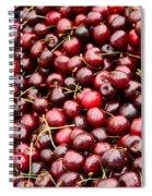 Market Cherries Spiral Notebook