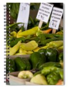 Market Peppers Spiral Notebook