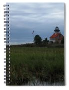 Marking The Mouth Of The River Spiral Notebook
