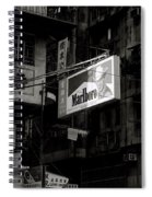 Marlboro In Hong Kong Spiral Notebook