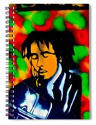 Marley Rasta Guitar Spiral Notebook