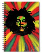 Marley Starburst Spiral Notebook