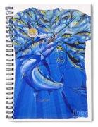 Marlin Ladies Shirt Spiral Notebook