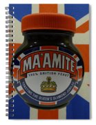 Marmite The Growing Up Spread Spiral Notebook