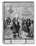 Marriage Contract, 1645 Spiral Notebook