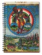 Mars, God Of War Spiral Notebook