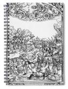 Mars, Roman God Of War Spiral Notebook