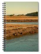 Marsh Of Pine Point Spiral Notebook