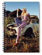 Marsha6 Spiral Notebook