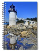 Marshall Point Light Reflection Spiral Notebook