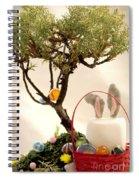 Marshmallow Bunny Spiral Notebook