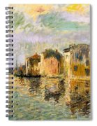 Martigues In The South Of France Spiral Notebook