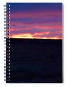 Martimoaapa The Burning Sky Spiral Notebook