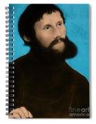 Martin Luther, German Theologian Spiral Notebook