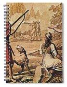 Mary Read And Anne Bonny, 18th Century Spiral Notebook