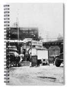 Maryland: Gas Station, C1921 Spiral Notebook