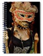 Mask Ball Spiral Notebook