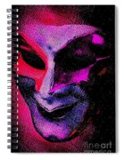 Masks We Hide Behind Spiral Notebook