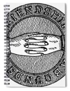 Masonic Symbol Spiral Notebook