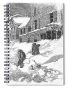 Massachusetts: Blizzard Spiral Notebook