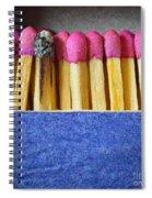 Matchbox Spiral Notebook