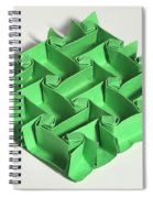 Mathematical Origami Spiral Notebook
