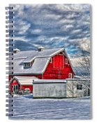 Matsqui Barn Hdr Spiral Notebook