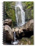 Mauis Wailua Falls And Rocks Spiral Notebook