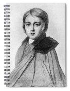 Maurice Sand (1823-1889) Spiral Notebook