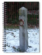 Mauricetown Hitching Post  Spiral Notebook