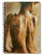 Maya Desnuda Spiral Notebook