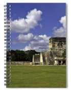 Mayan Ball Court Spiral Notebook