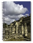 Mayan Colonnade Spiral Notebook