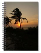 Mayan Paradise Spiral Notebook